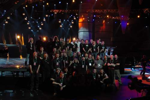 ESC-05 / Kiev - The Video & Lighting Crew